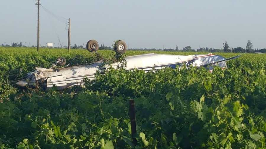 A closer look at the plane that crash-landed in Lodi. All 17 passengers and the pilot are surprisingly OK.