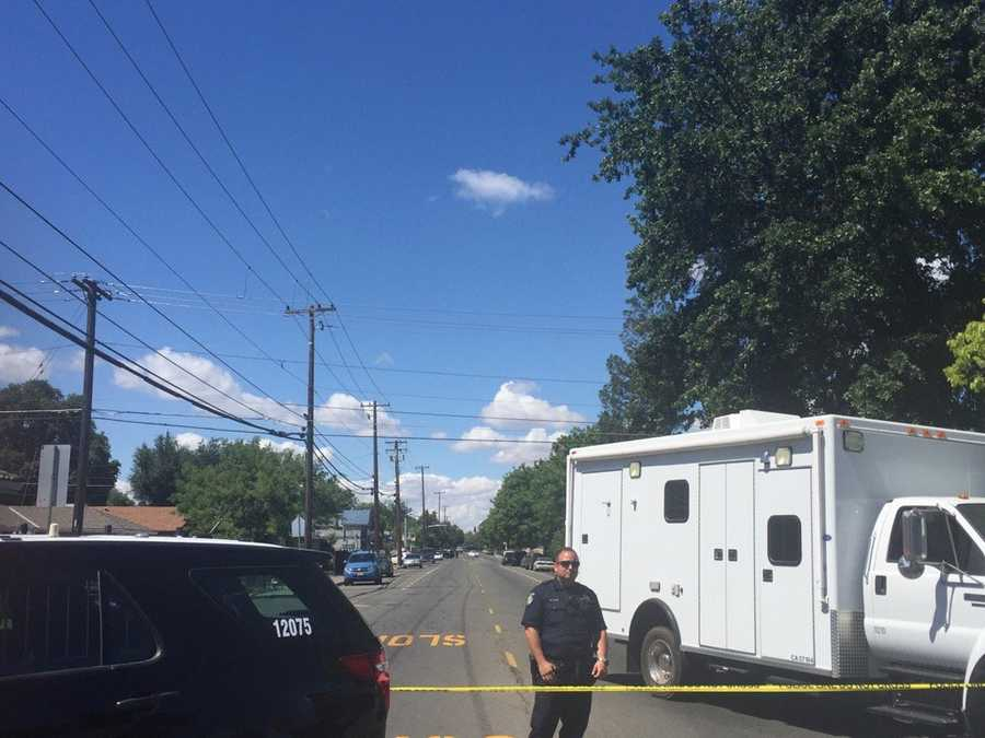 Sacramento police sought an armed man in the area of Martin Luther King, Jr. Boulevard and 17th Avenue on Saturday, May 14. Police said the man detonated an explosive device while officers were pursuing him. They have surrounded a home they believe he has barricaded himself in.