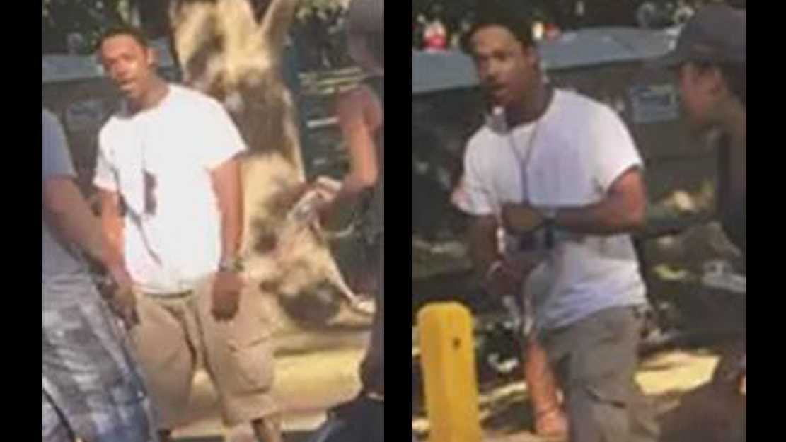 The Sacramento Police Department released this photo of the suspect accused of assaulting a man who later died on Sunday, May 15, 2016.