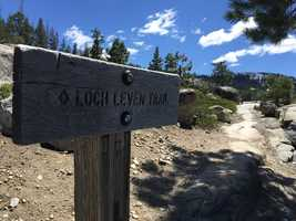 Loch Leven Trail can be found off Interstate 80 in the Tahoe National Forest. The trail is in the best condition for hiking between June and November, but it is possible to explore to area on snowshoes.