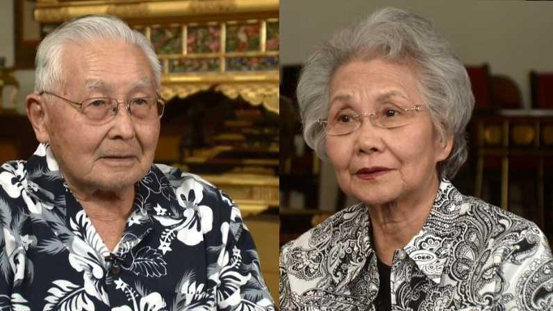 Mike Nakagawa and Toshie Kobata, of Sacramento, survived the atomic bomb attack on Hiroshima, Japan.