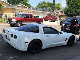 The Stockton Police Department seized several vehicles suspected of being involved in an illegal sideshow on May 1, 2016 that blocked several streets and damaged five patrol vehicles. Here are photos of the cars they seized on Saturday, May 28, 2016.Here is a 2004 Chevy Corvette in the 2000 block of Madrid Drive.