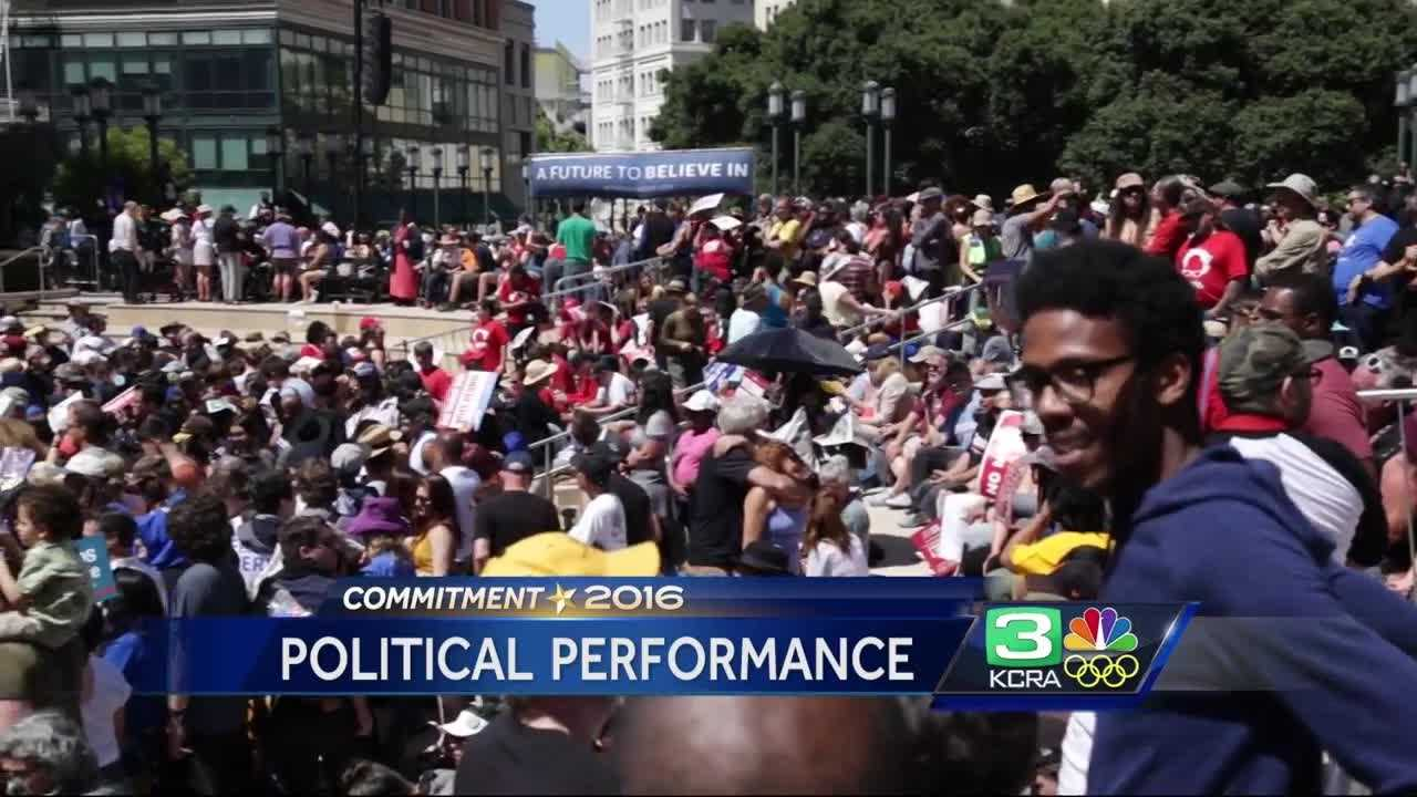 Several Sacramento musicians shared the stage Democratic presidential candidate Bernie Sanders during his Northern California rallies.
