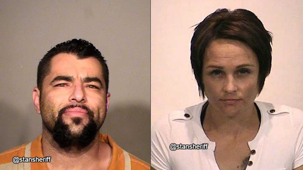 Ildefonso Herrera and Sabrina Spears were arrested by deputies Thursday.