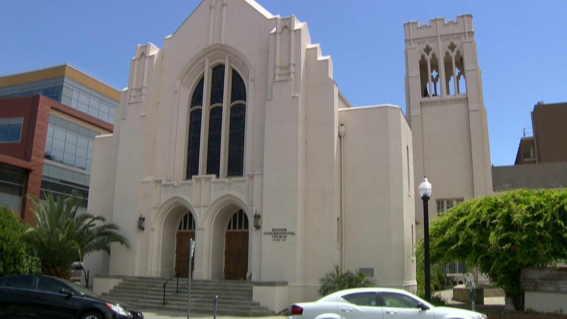Pioneer Congregational United Church of Christ on 27th and L streets in Sacramento, California.