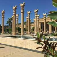 """Darioush Winery is by far the most beautiful winery in Napa! It has a Persian Empire feel, and the service makes you feel like you're part of an elite club of wine connoisseurs.""--Dana Griffin, reporter"