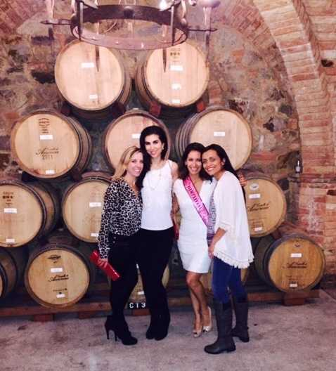 """Castello di Amorosa in Napa Valley is a beautiful winery in a castle that was built with bricks from Italy. It's super romantic and has amazing wine, especially dessert wine.""--Leticia Ordaz, anchor/reporter"