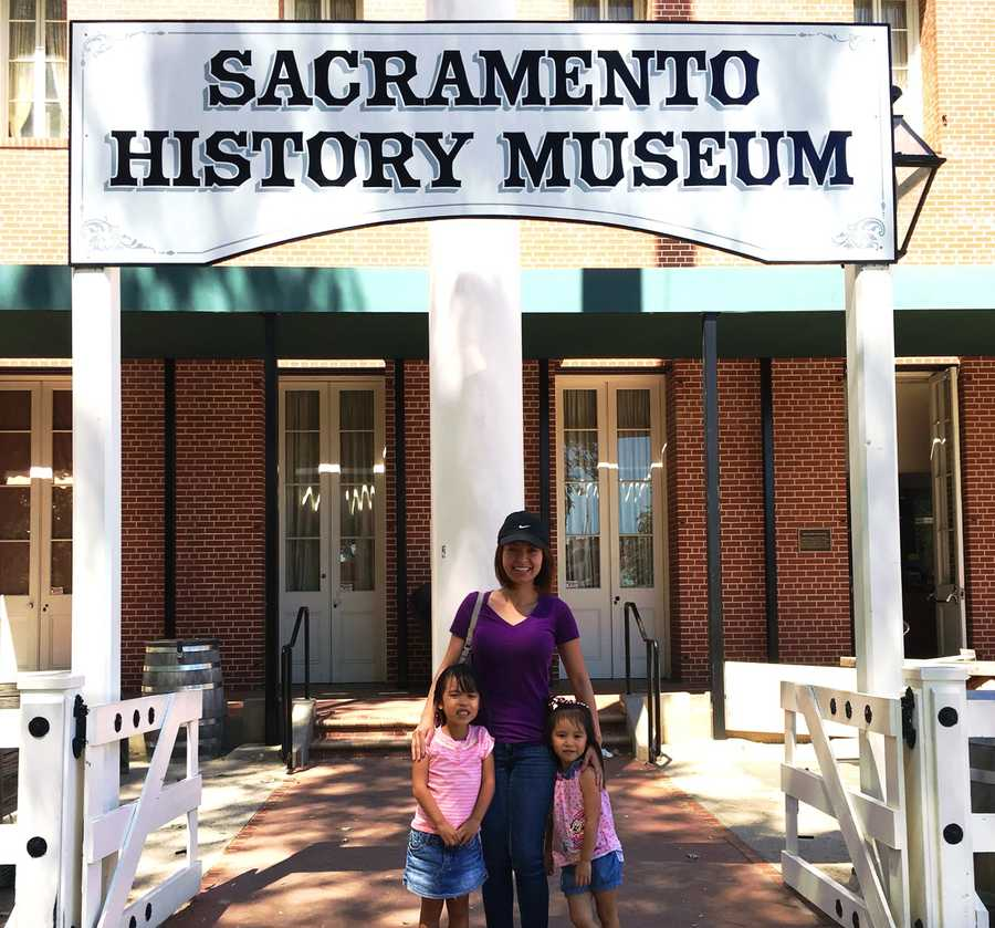 """Visit the Sacramento History Museum.""--Linh Truong, reporter"