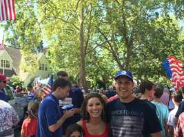 """You've got to check out the Fourth of July parade in East Sacramento's Fabulous Forties neighborhood. It's an amazing parade that I've participated in since I was 7 years old. Thousands turn out every year on Independence Day.""--Lisa Gonzales, anchor"
