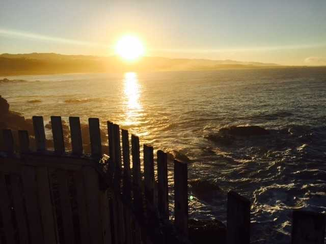 """Drive the coast of Northern California to watch the sunset in awe.""--Mike TeSelle, reporter"