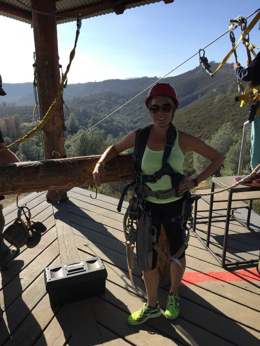"""Moaning Cavern Adventure Park in Vallecito is a great outdoor adventure land where you can zipline, rappel down mines and tour old gold mines. I like to go here for my birthday because the birthday guest gets one free activity of their choice. This is a great day trip for families too.""--Tamara Berg, meteorologist"