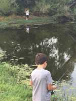"""Go fishing with your kids at a local pond.""--Teo Torres, anchor"
