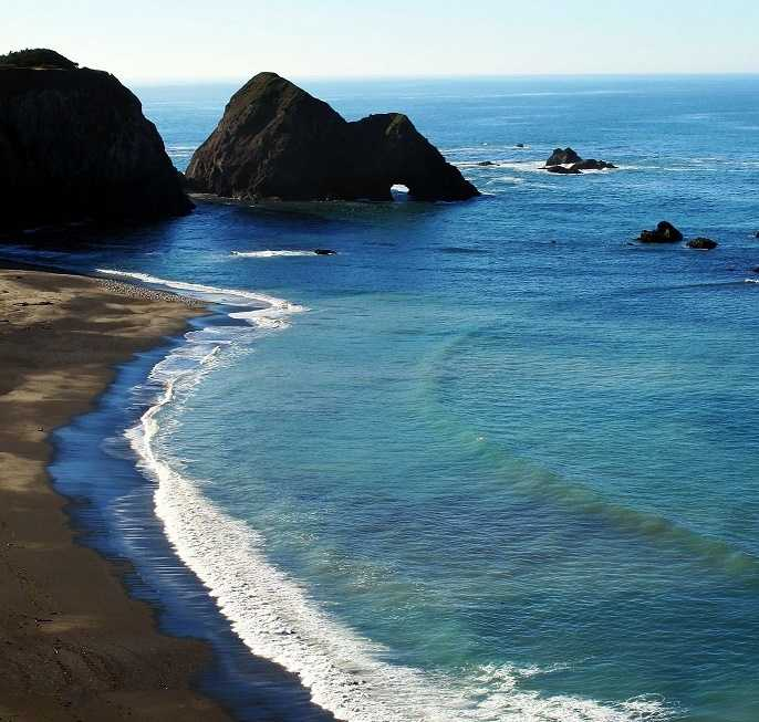 """You've got to see the picturesque views along the Mendocino coast. It's where my husband and I were engaged.""--Eileen Javora, meteorologist"