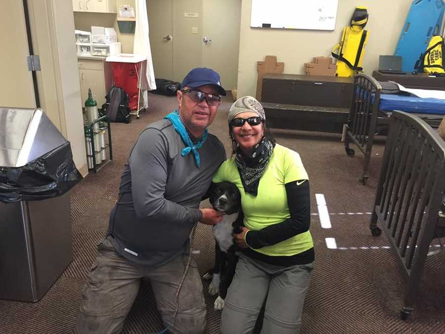 Two Modesto hikers were reunited with family and friends Friday, June 17, 2016, after being lost in the wilderness in the Pinecrest area for three days. Check out photos of Donna Hallberg, 55, and Mark Smallwood, 59, as they greeted loved one. (Photos courtesy of Tuolumne County Sheriff's Office)