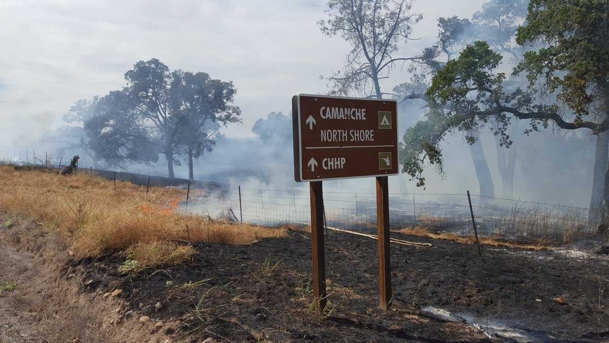 Camanche Fire near Ione in Amador County is at 200 acres and 70 percent contained, officials said.