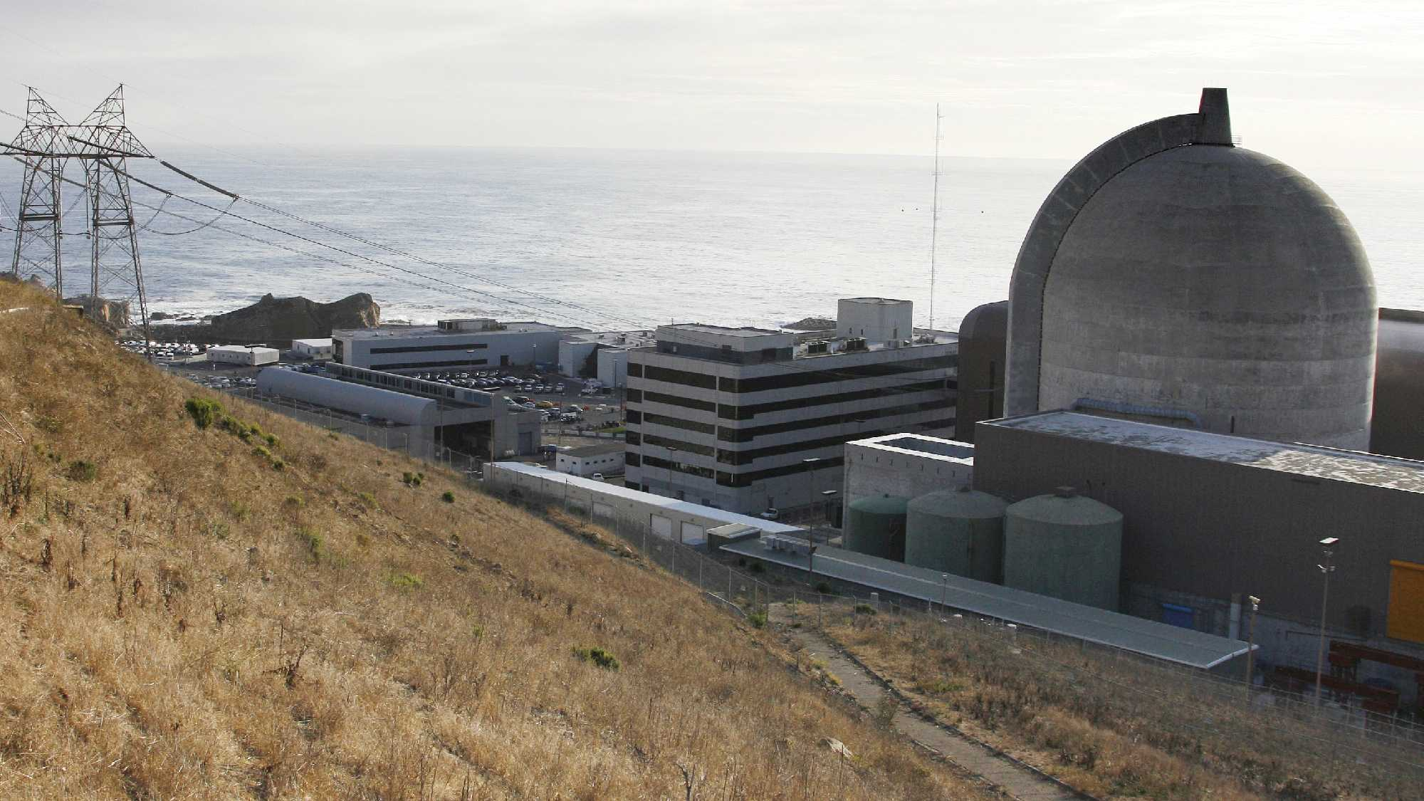 This Monday Nov. 3, 2008 file photo shows one of PG&E's Diablo Canyon Power Plant's nuclear reactors in Avila Beach, Calif.