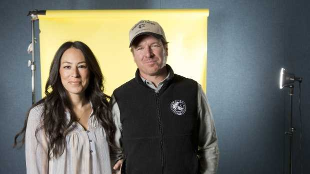 "Chip and Joanna Gaines of ""Fixer Upper"""