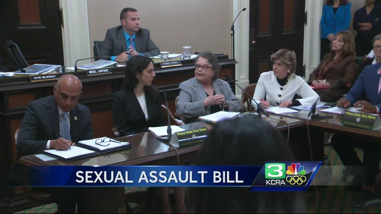 A California lawmaker wants to eliminate the statute of limitation regarding criminal rape cases.