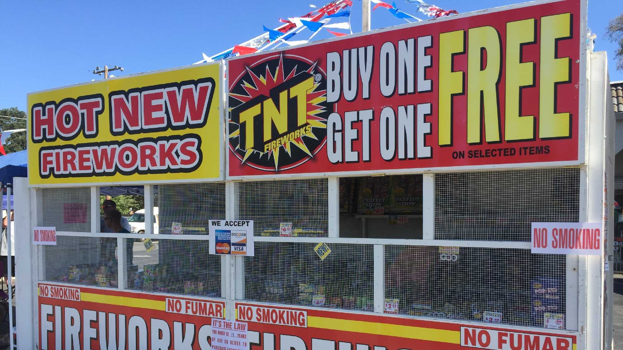 Thieves Steal $12,000 in Fireworks from Rio Linda Little Leage 1