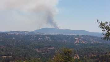 Fire crews are fighting a growing wildfire dubbed the Appaloosa Fire in Calaveras County on Saturday, July 2. Here are a few photos of the wildfire.
