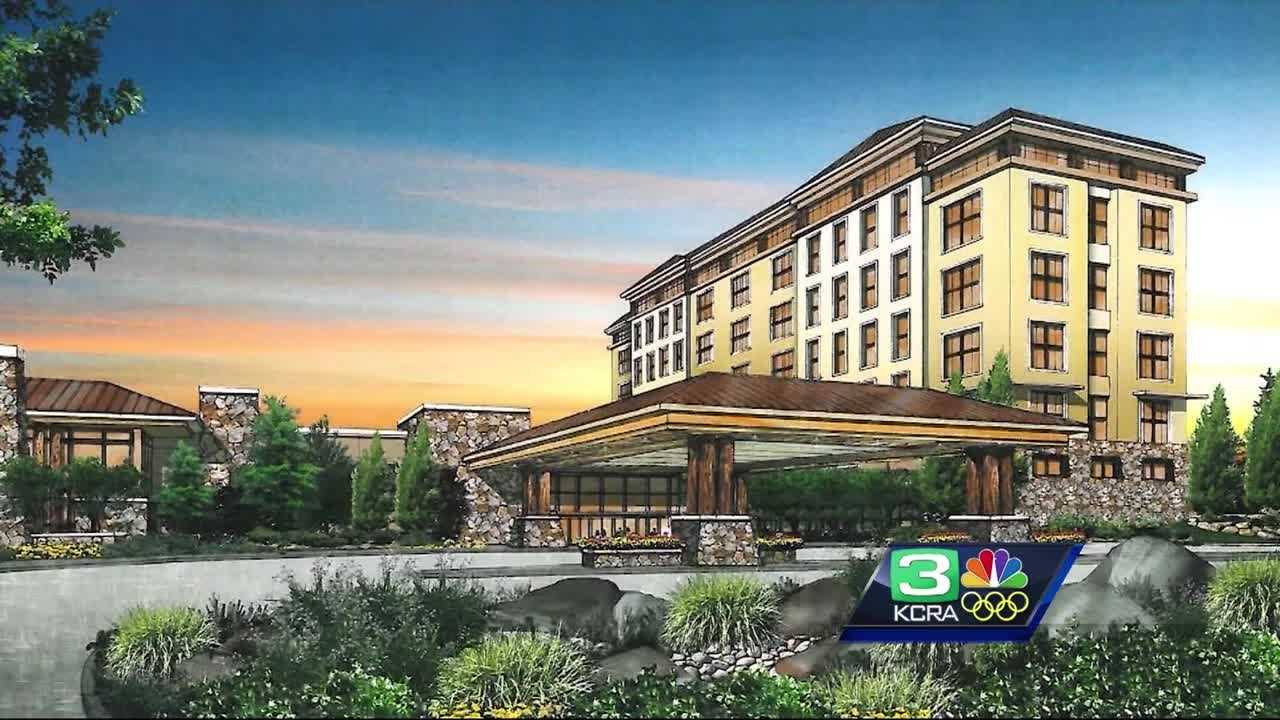 Rendering of the casino planned to be built in Elk Grove.