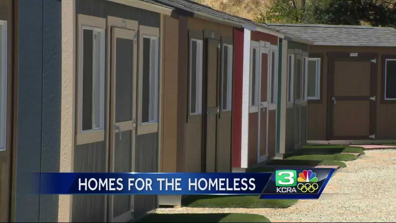 A new program in Yuba County uses tiny homes to help homeless people get back on their feet.