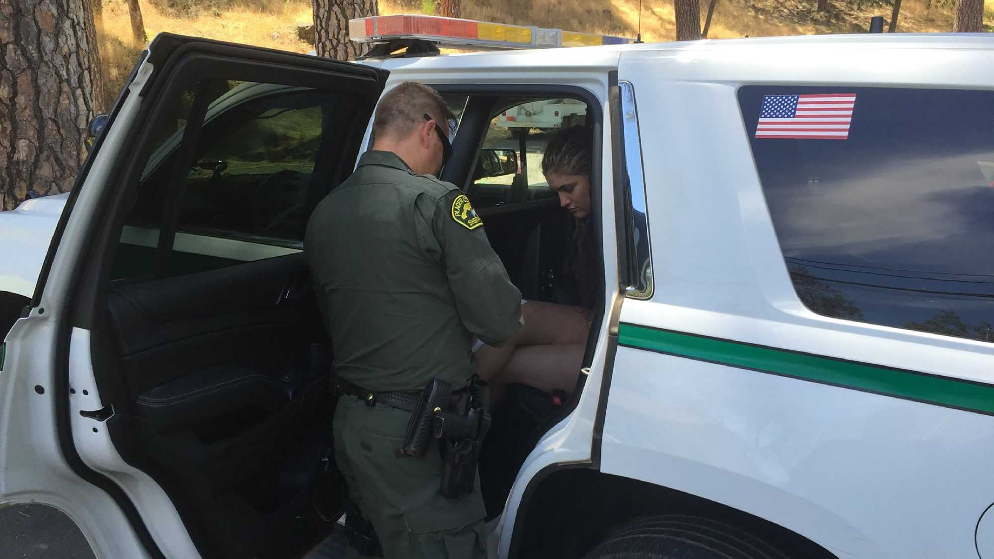 Cortney Marie Halley, 21, was captured Friday afternoon by Placer County Sheriff's deputies.