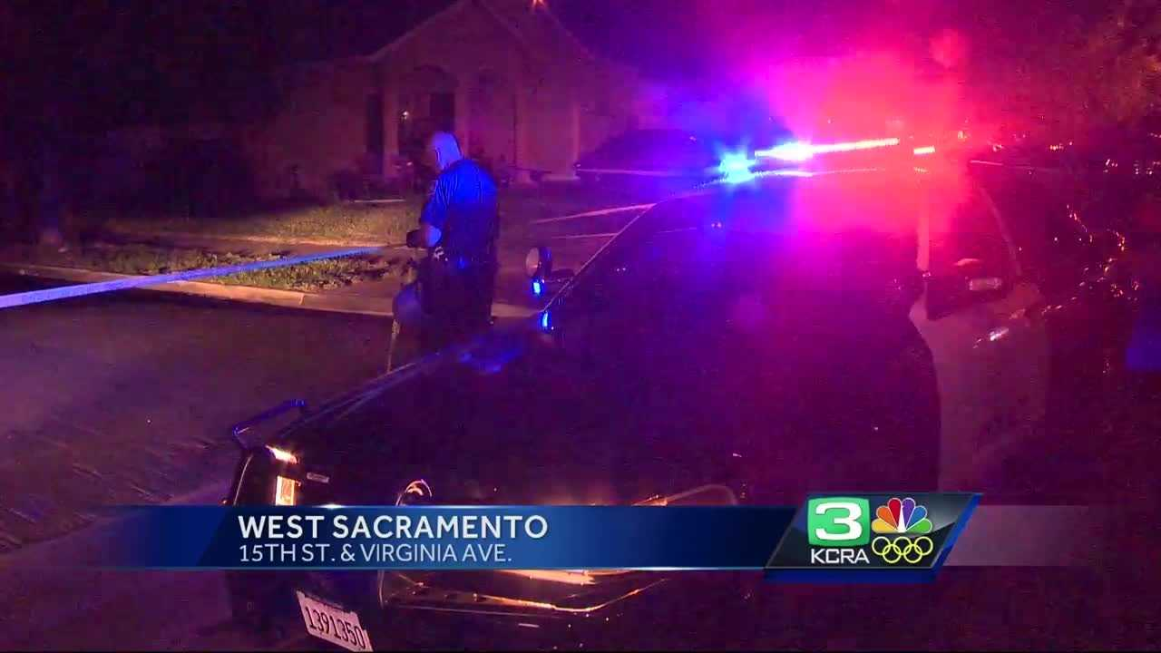 A man was hospitalized after a shooting in West Sacramento Saturday night.