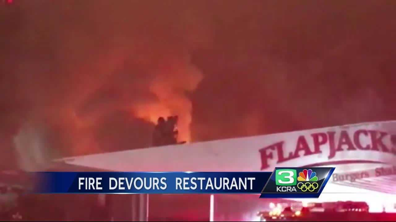 A popular Sacramento restaurant was heavily damaged during an overnight fire.