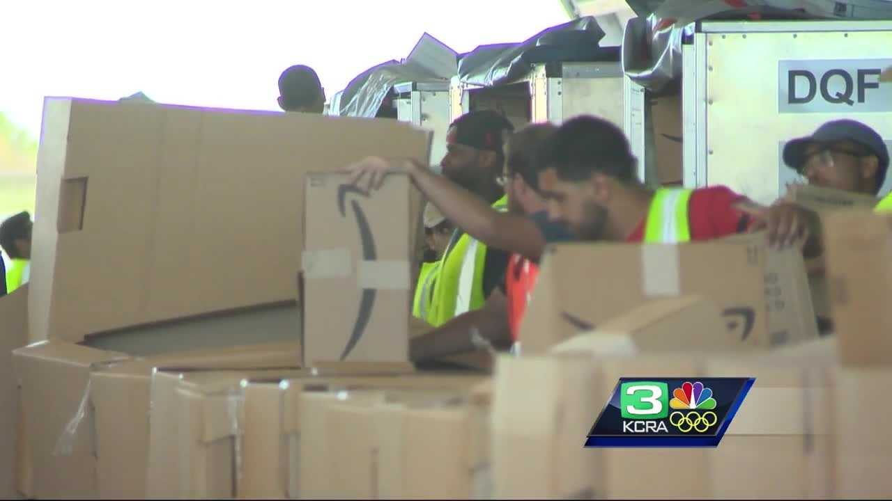 More Amazon shipments will be going in and out of Stockton's airport.