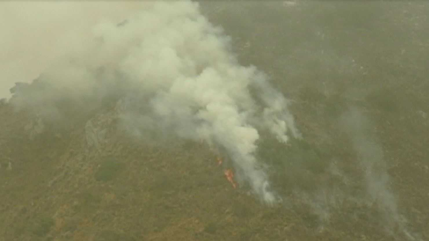 Sobranes Fire in Monterey County