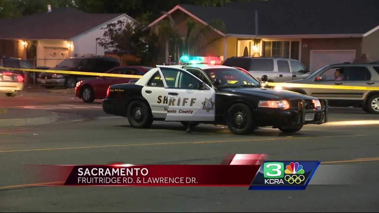 A 6-year-old girl was shot Tuesday night near the intersection of Fruitridge Road and Lawrence Drive in south Sacramento.