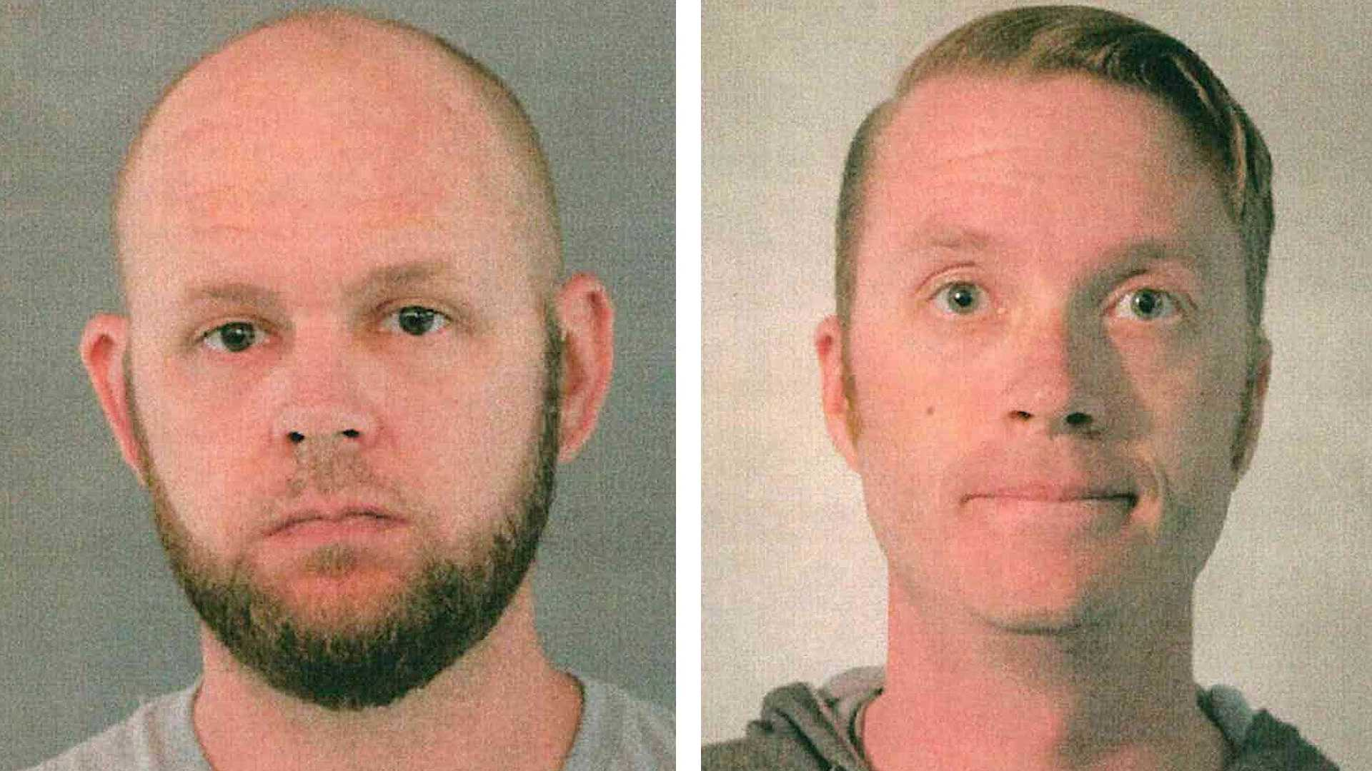 Donald Wade Jr. and Thomas McPike are accused of filming young girls as they undressed at the Vacaville Performing Arts Theater, the Vacaville Police Department said.