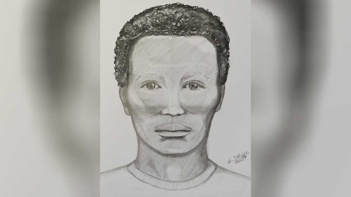 Sketch of man sought in attempted sexual assault. (August 5, 2016)