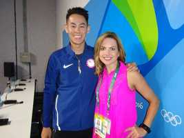 Howard Shu is Team USA's badminton star. He is the top ranked player in the US and ranked 67th in the world.Shu poses with KCRA's Deidre Fitzpatrick in Rio on Wednesday, Aug. 10, 2016.Here is a closer look at this incredible Olympian's journey to Rio: