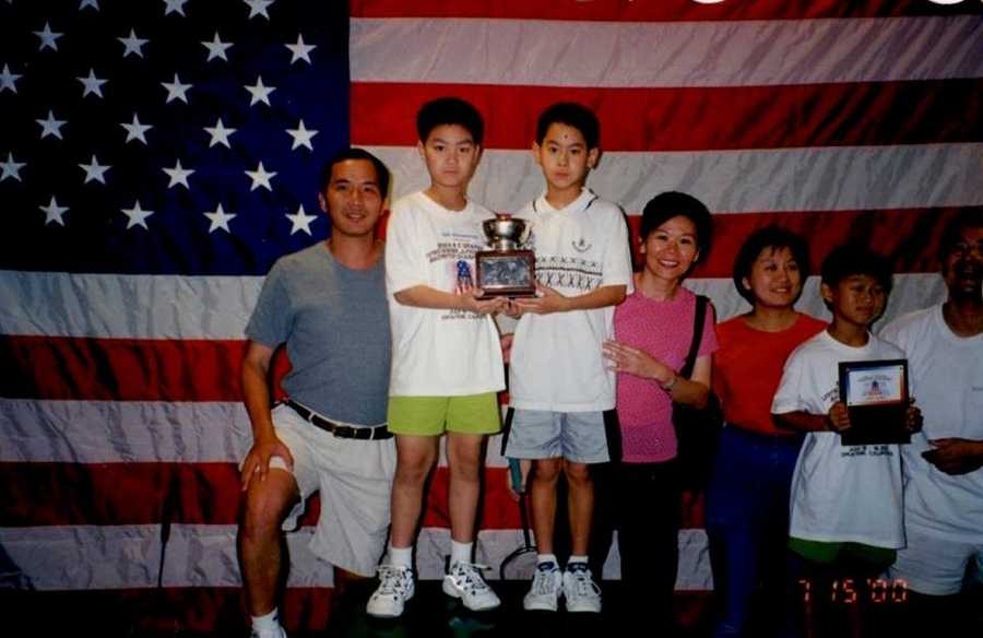 """Shu won the triple crown, won men's singles and men's doubles. After the competition, he thought, """"Maybe I can go somewhere with this."""""""