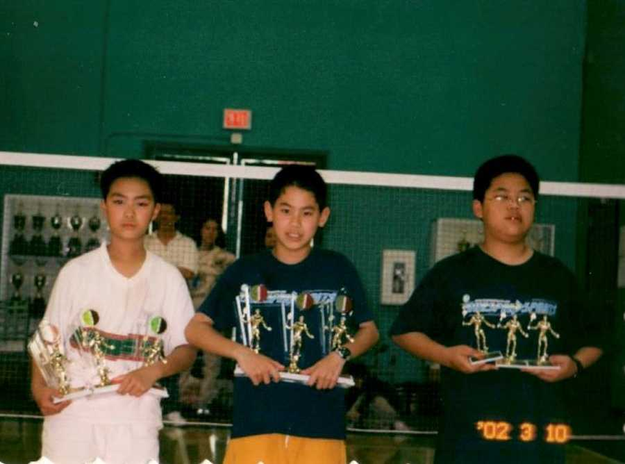 When he was 11, Shu competed in the Pan American Junior Championships and swept the competition.