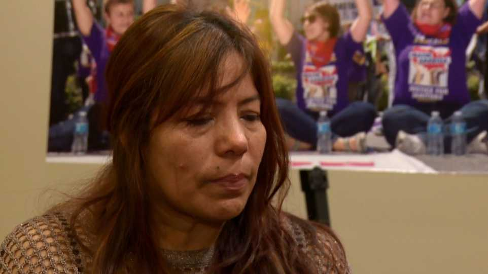 Leticia Soto was sexually assaulted at work as the overnight janitor in a Santa Monica business. She said her supervisor would assault her and then threaten to deport her.