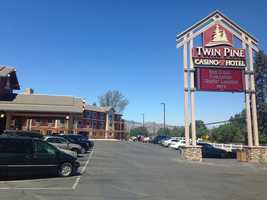 Hundreds of Clayton fire evacuees find shelter at Twin Pines Casino in Middleton