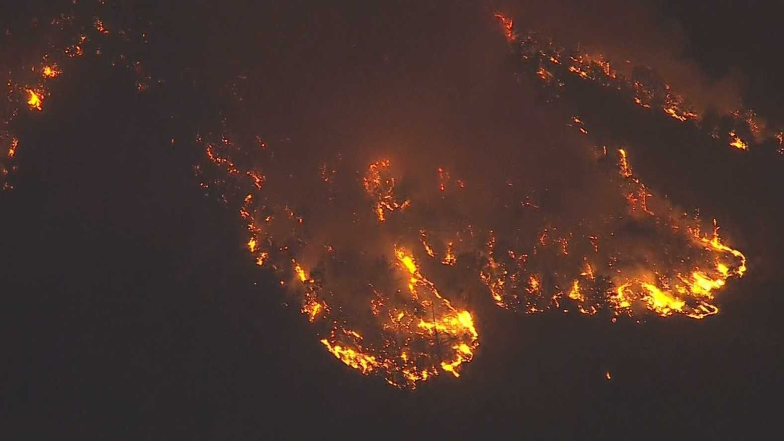 Southern California wildfire dubbed the Bluecut Fire