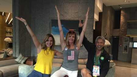 Deirdre and Domi are learning from one of the top fitness icons, Kathy Smith.