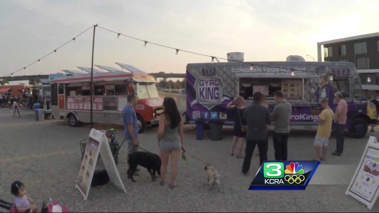 A new food truck event proposed for Sacramento has some area businesses concerned not because of competition, but congestion.
