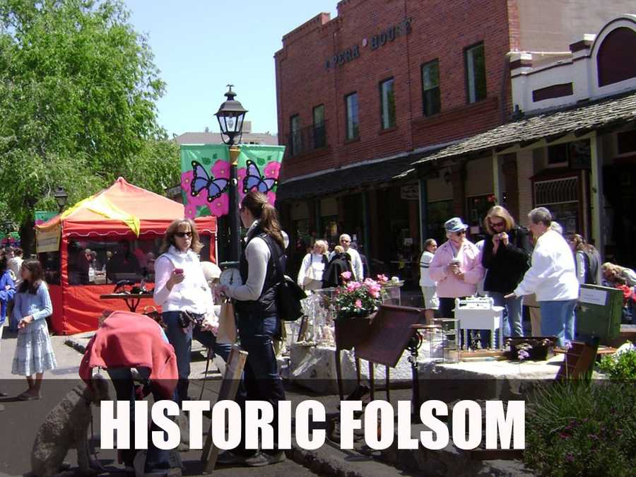 Historic Folsom is the historic district that preserves the city's gold mining past in the heart of Folsom. (Source: http://historicfolsom.org/)