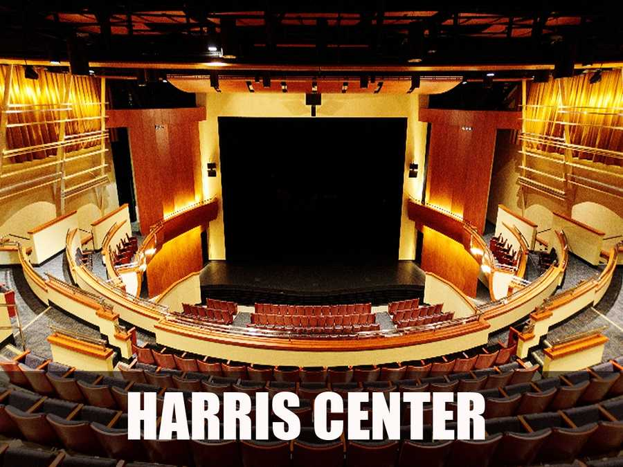 The Harris Center is home to Folsom Lake College's visual and performing arts instructional offerings and offers first class performances and shows. (Source: https://www.harriscenter.net/Online/default.asp)