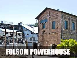 This is a historical site that preserves one of the first 1895 alternating current (AC) hydroelectric power station. (Source: https://en.wikipedia.org/wiki/Folsom_Powerhouse_State_Historic_Park)