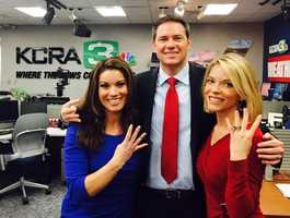 B: From 4 to 5:30 p.m. and 6 to 7 p.m. on KCRA