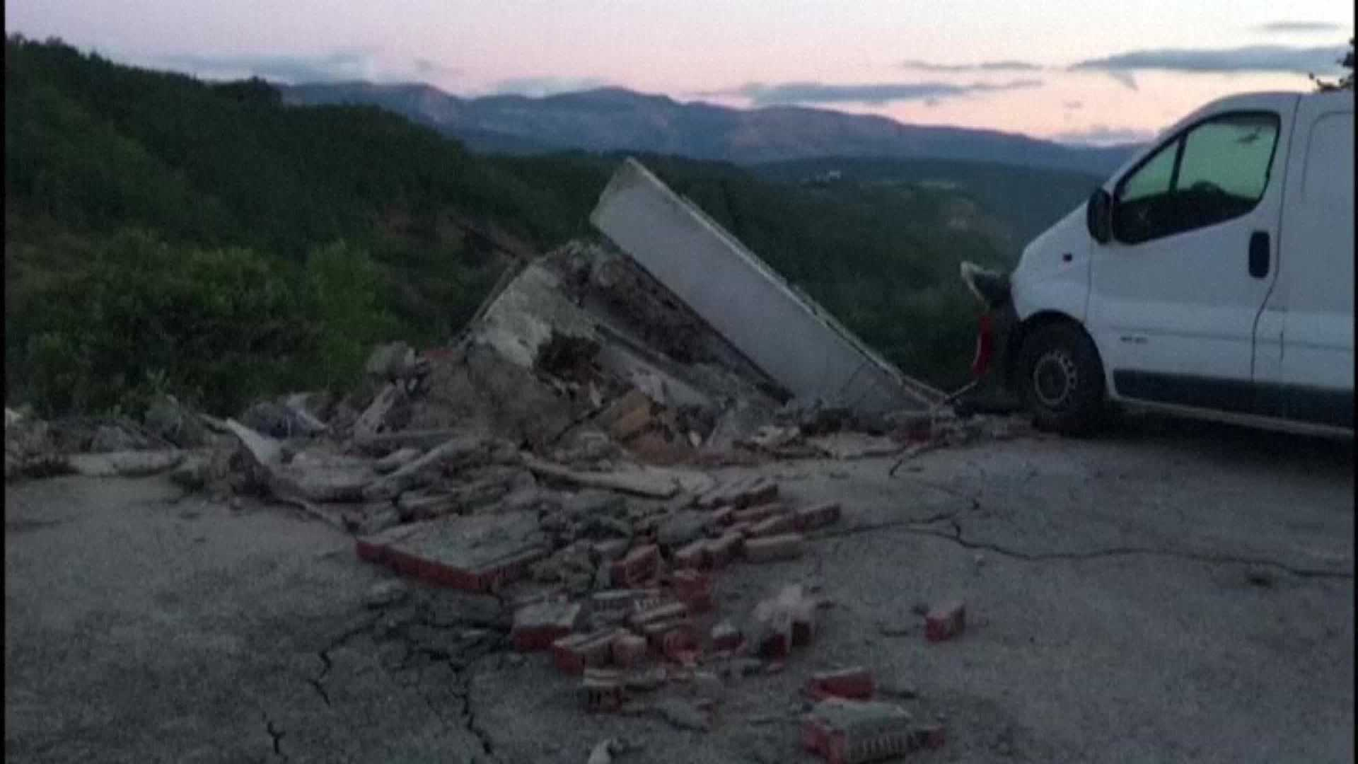A 6.2 magnitude earthquake shook central Italy early Wednesday morning. As the sun began to rise, the damage caused by the quake in the Italian town of Amatrice  was more visible.
