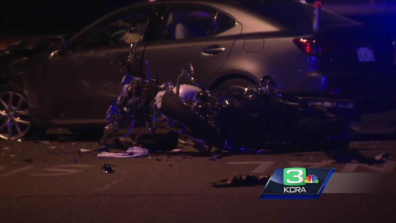 One person was killed in a crash Saturday night in Citrus Heights,