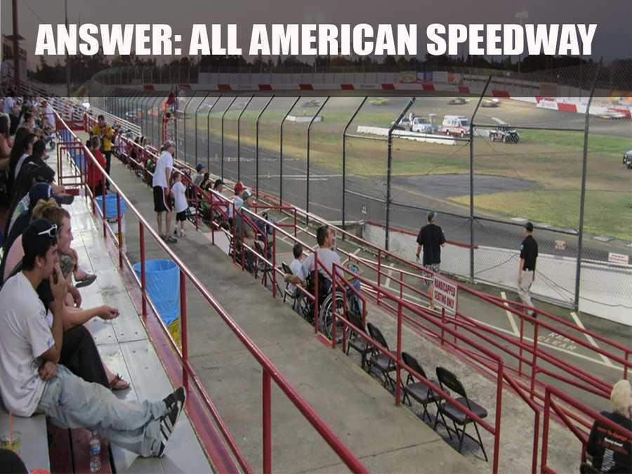 According to their website, the speedway has been the home of short-track racing thrills in Northern California over the last 60 years.