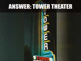 The Tower Theater originally opened on November 7, 1940, and had a seating capacity of 1,100.